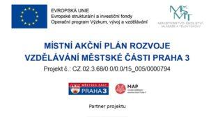 MAP rozvoje vzdělávání v Praze 3