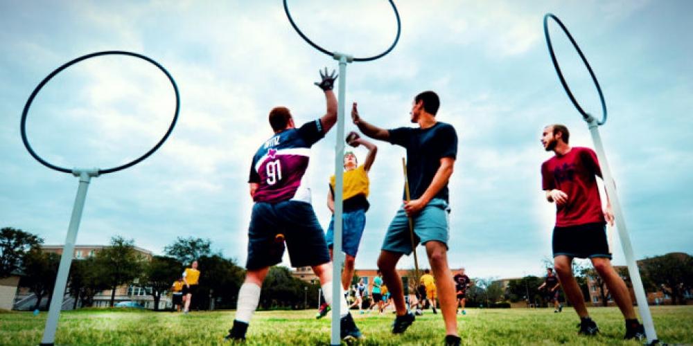 Turnaj v mudlovském Famfrpálu